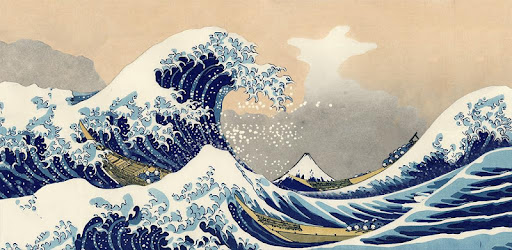 Great Wave Off Kanagawa Lwp Apps On Google Play