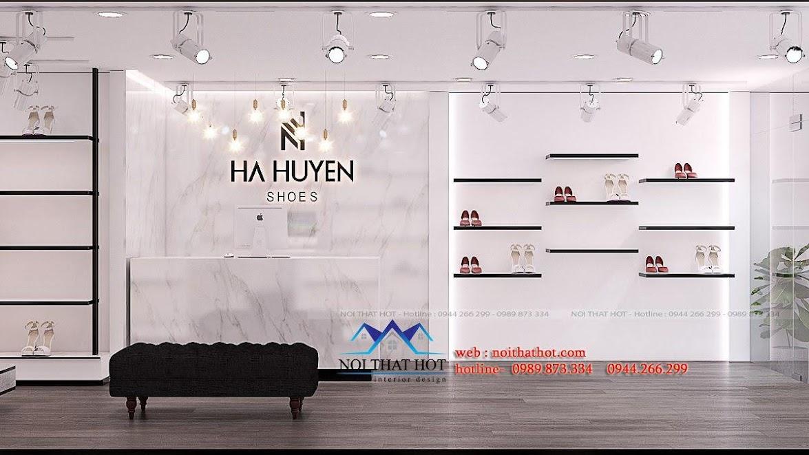 thiết kế shop giày dép thời trang ha huyen 4