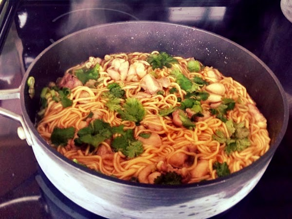 Lemongrass Chicken Ramen Recipe