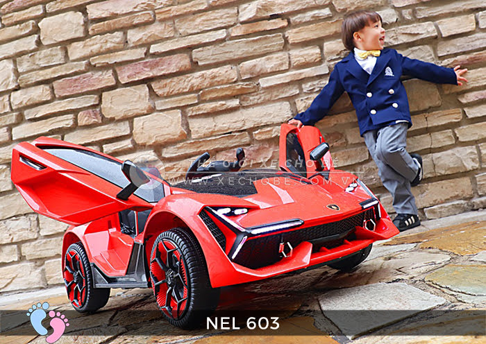 xe ô tô điện trẻ em Lamborghini NEL-603 1