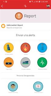 SafeLiveAlert - Alerta Sísmica - náhled