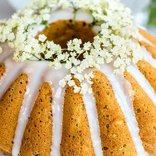 Zucchini Coconut Bundt Cake with Elderflower Glaze Recipe