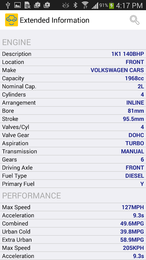 MyCarCheck- screenshot