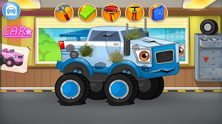 Repair machines - monster trucks APK screenshot thumbnail 2