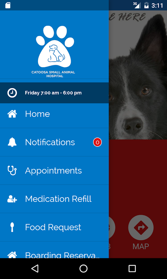 Catoosa Small Animal Hospital- screenshot