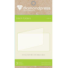 Diamond Press - Blank Folder refill size A