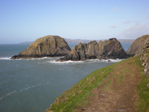 Photo: From St David's to Abercastle (Ynys Deullyn)