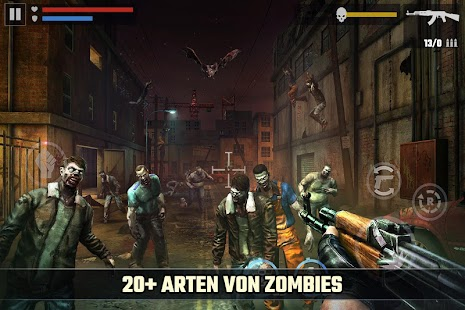 Zombie Spiele : DEAD TARGET - Best Shooting Game Screenshot