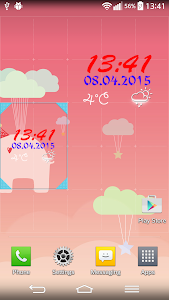Digital Weather Clock screenshot 3
