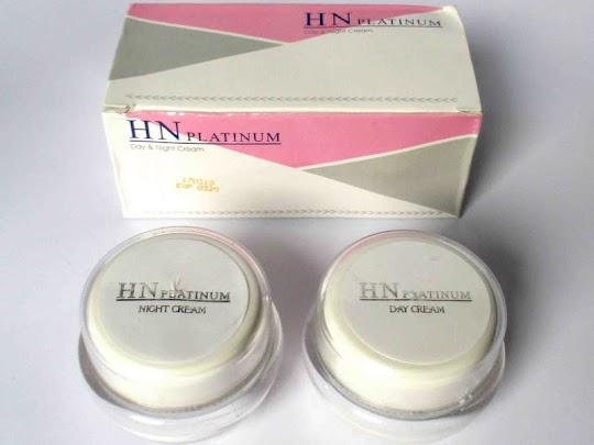 Cream HN PLATINUM paket krim perawatan wajah HN original asli bpom memutihkan mencerahkan aman ibu hamil menyusui