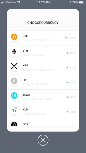 TCXhub Mobile - screenshot