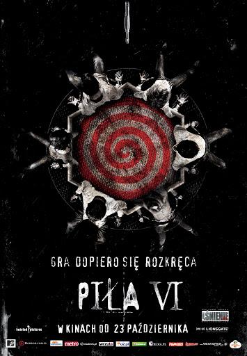 Polski plakat filmu 'Piła VI'