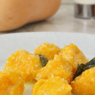 Recipe for Butternut Squash Gnocchi