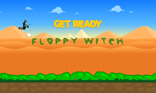 Floppy Witch screenshot 0