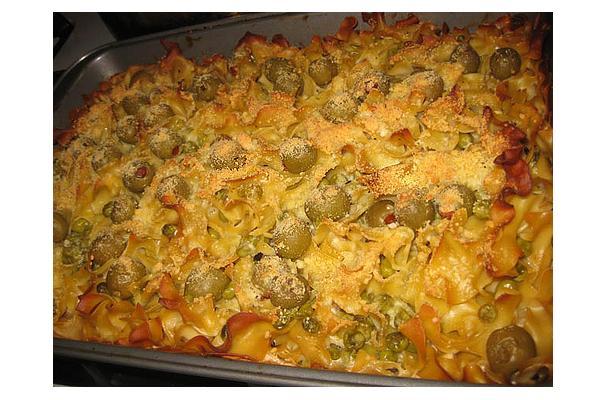 Egg Noodle Casserole Recipe