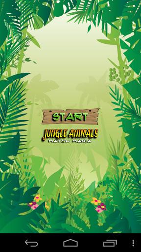 Jungle Animals Match Mania