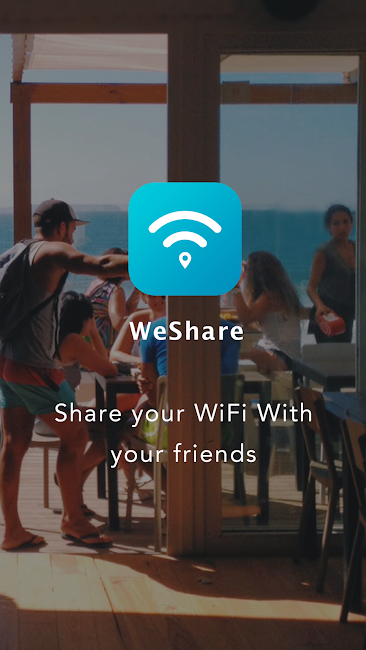#4. WeShare: Share WiFi Worldwide (Android)