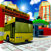 Bus Wash Service Station