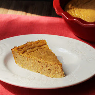 Self-Crusting Pumpkin Pie