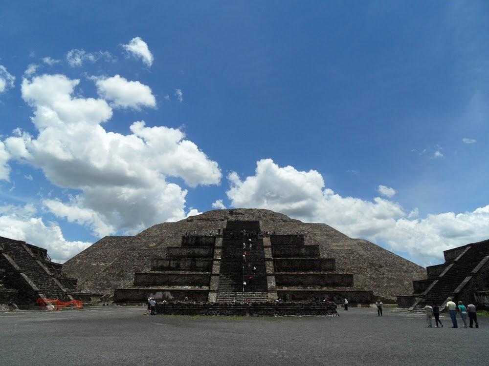 No caminho dos Teutihuacanos (de 200 d.C. a 800 d.C.) | As civilizações pré-colombianas do México