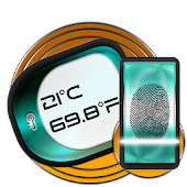 Fingerprint Body Temperature Test Calculator Prank