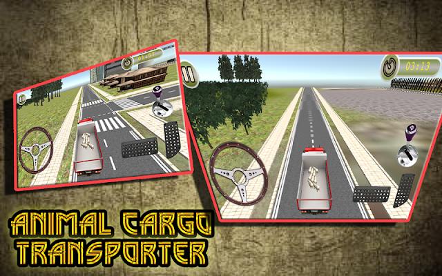 Animal Cargo Transporter Games - screenshot