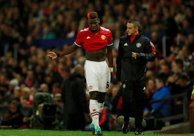 Mourinho ne dramatise pas la longue absence de Pogba