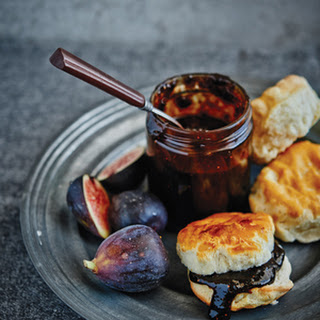 Balsamic Fig Jam With Honey And Black Pepper.