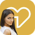 Ahlam. Chat & Dating app for Arabs in USA icon