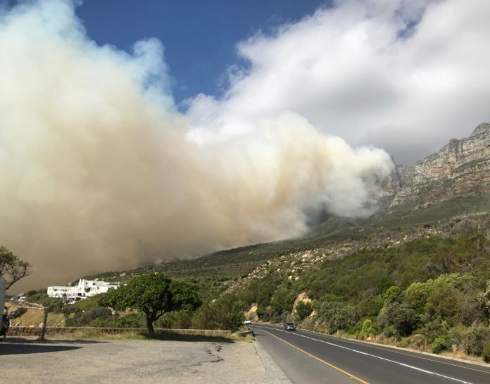 12 Apostles Fire please stay clear of the area.