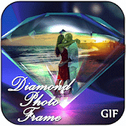 Sparkling Diamond GIF Photo Frame Editor