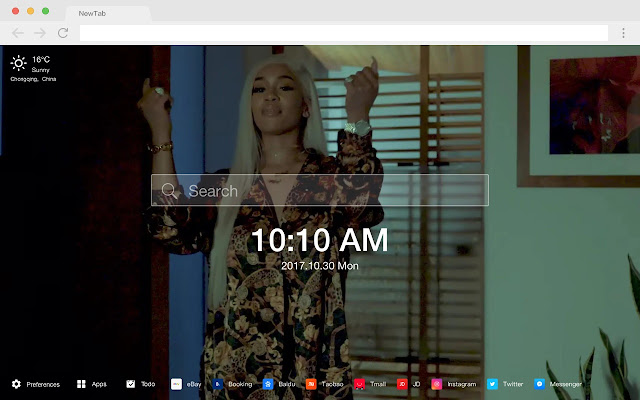 Saweetie HD New Tabs Popular Stars Themes