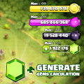 Special Generate Gem For Clash of Clans Prank download