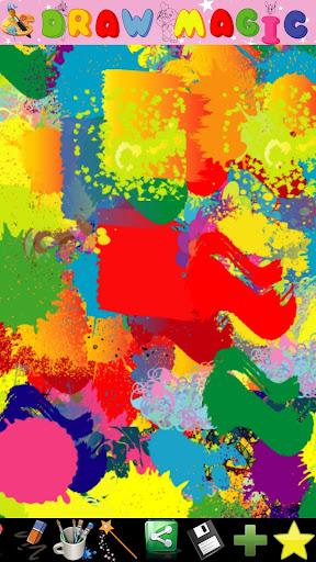 抽象畫家兒童