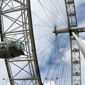 by Franky Vanlerberghe - Buildings & Architecture Other Exteriors ( london eye, londen, rad,  )