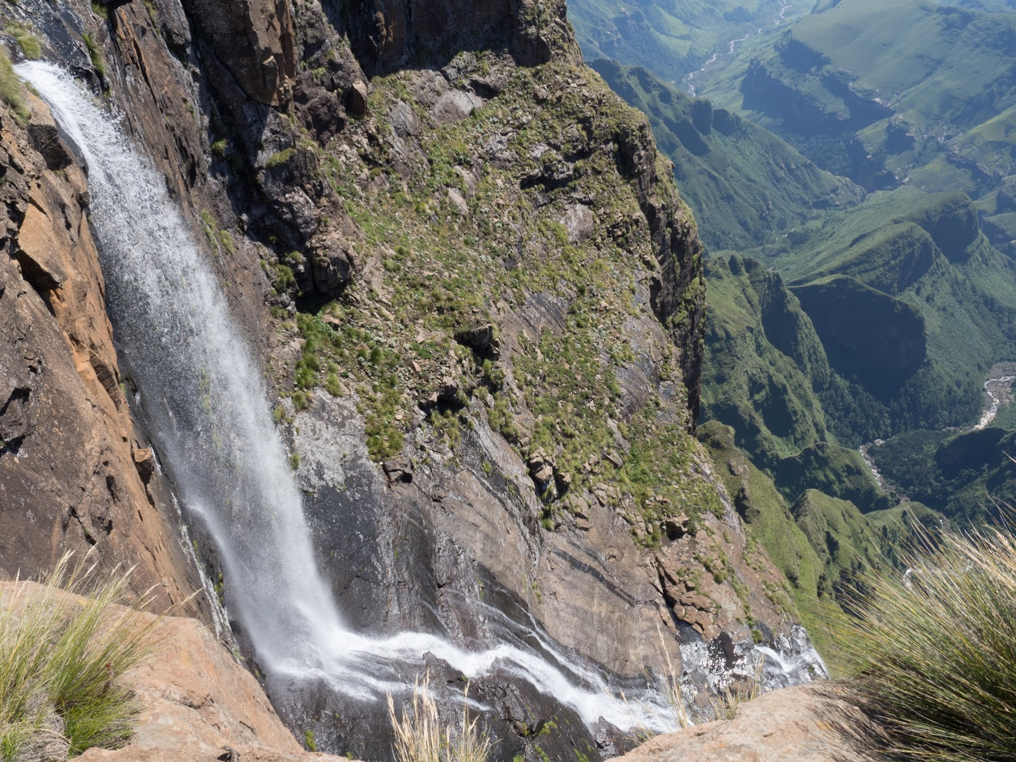 The tallest waterfall in Africa