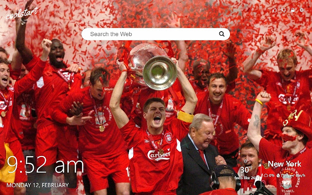 Liverpool Fc Hd Wallpapers New Tab Theme