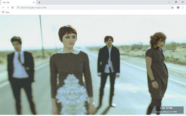 Ladytron New Tab & Wallpapers Collection