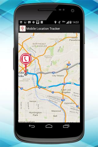 ライブ モバイル位置情報追跡システム