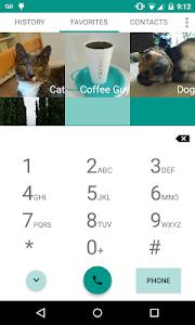 Universal Dialer plus Widget screenshot 1