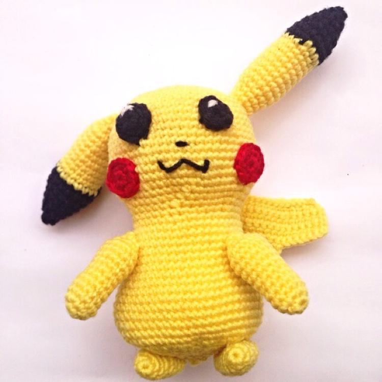 Crochet Pikachu by Ricincraft