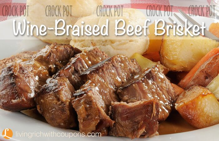 Wine-Braised Beef Brisket Recipe | Yummly