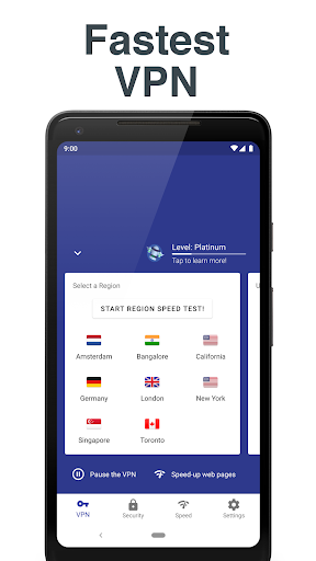 Free and Unlimited VPN - Safe, Secure, Private! 6.3.1003 screenshots 4