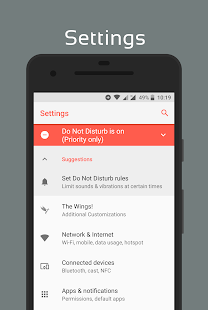 [Substratum] Flare UI Theme Screenshot
