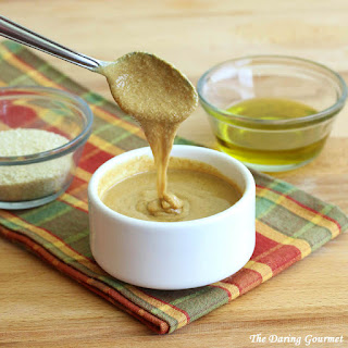 Homemade Tahini Paste.