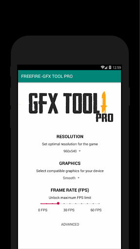 60 FPS Booster - GFX Tool PRO FOR FREE FIRE (FREE) App Report on