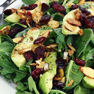 Spinach and Avocado Salad.