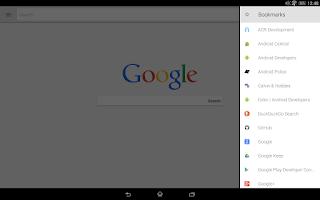 Screenshot of Lightning Web Browser +