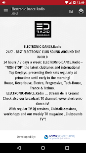 Electronic Dance Radio- screenshot thumbnail