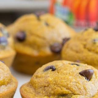 Healthy Flourless Pumpkin Muffins #Recipe